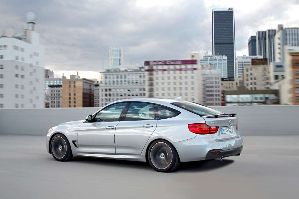 BMW Serie 3 GT laterale