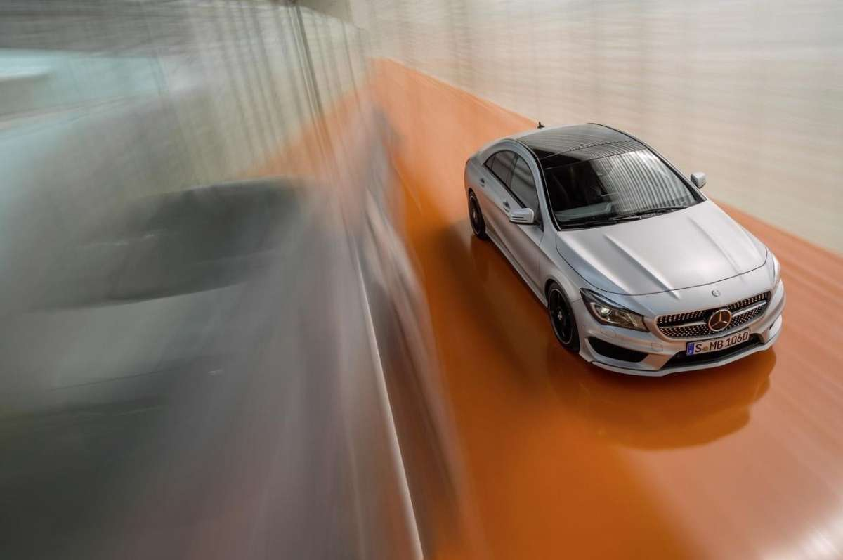 Mercedes CLA frontale
