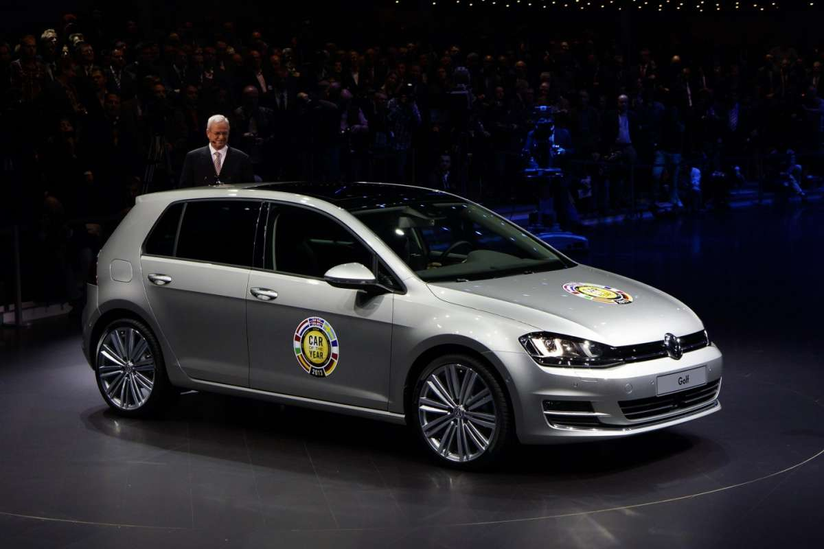 Volkswagen Golf 7  Auto dell'anno 2013