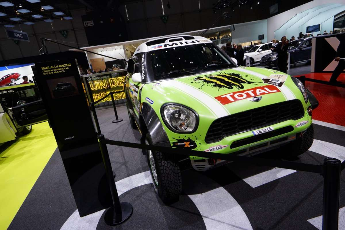 Mini All4 Racing Dakar