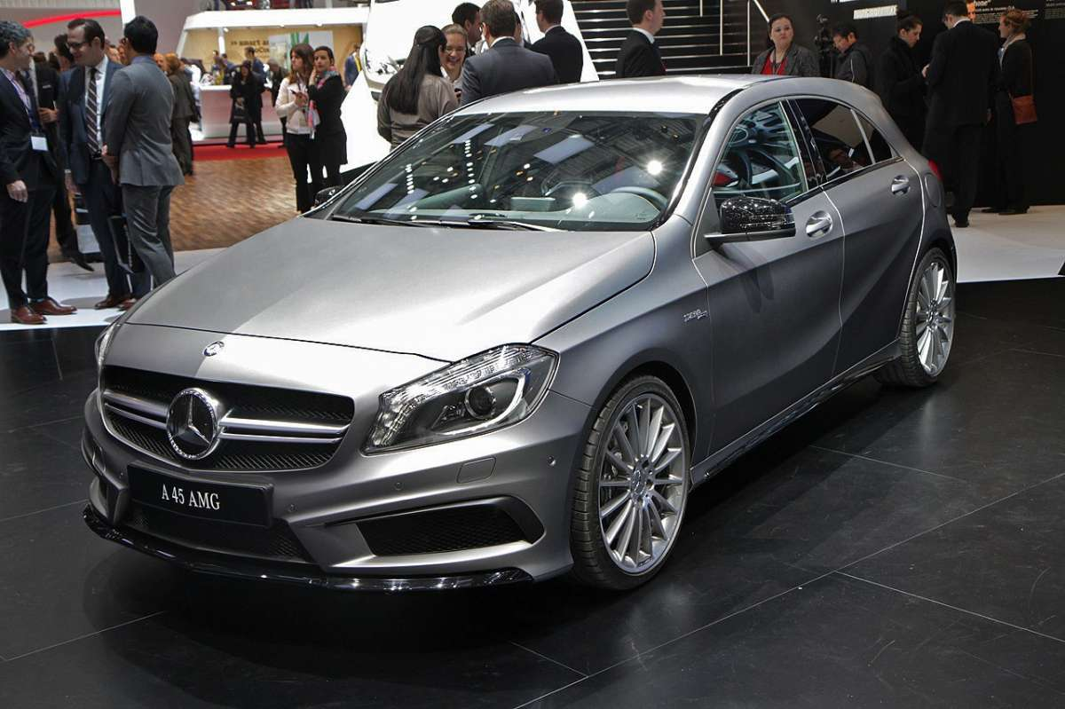Mercedes A45 AMG Frontale