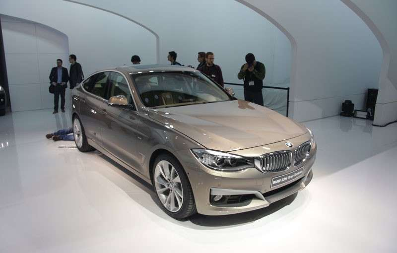 Frontale BMW Serie 3