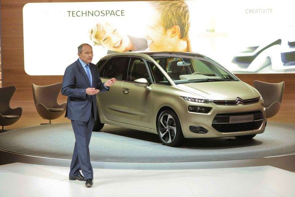 Citroen Technospace anteriore