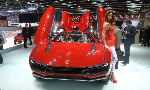 Italdesign Giugiaro Parcour