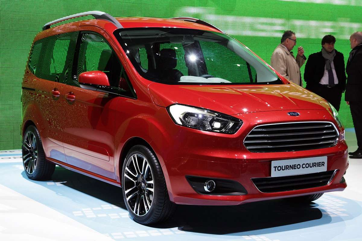Ford Tourneo Courier 2013 al Salone di Ginevra