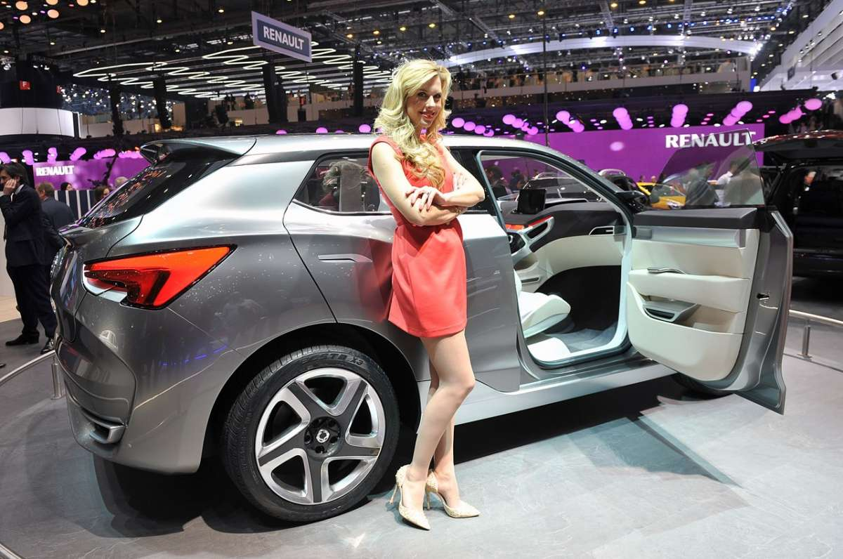 Allo stand Ssangyong