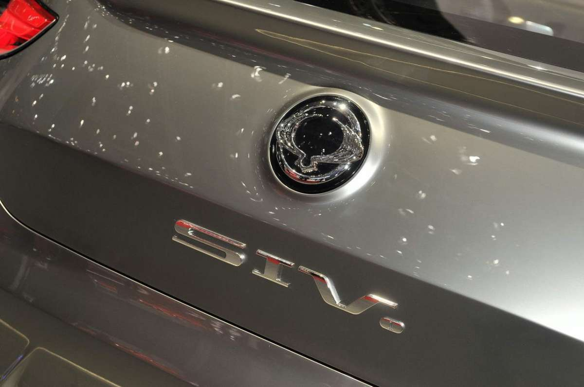 SsangYong SIV-1 Stemma posteriore