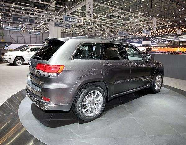 Jeep Grand Cherokee laterale