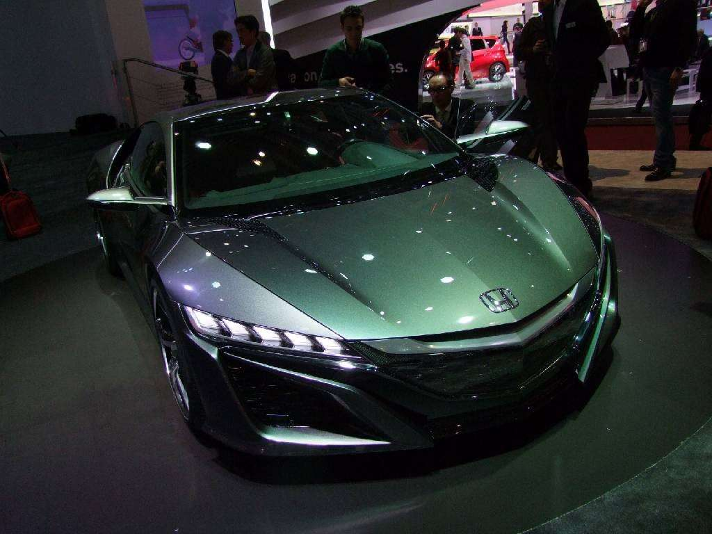 NSX frontale
