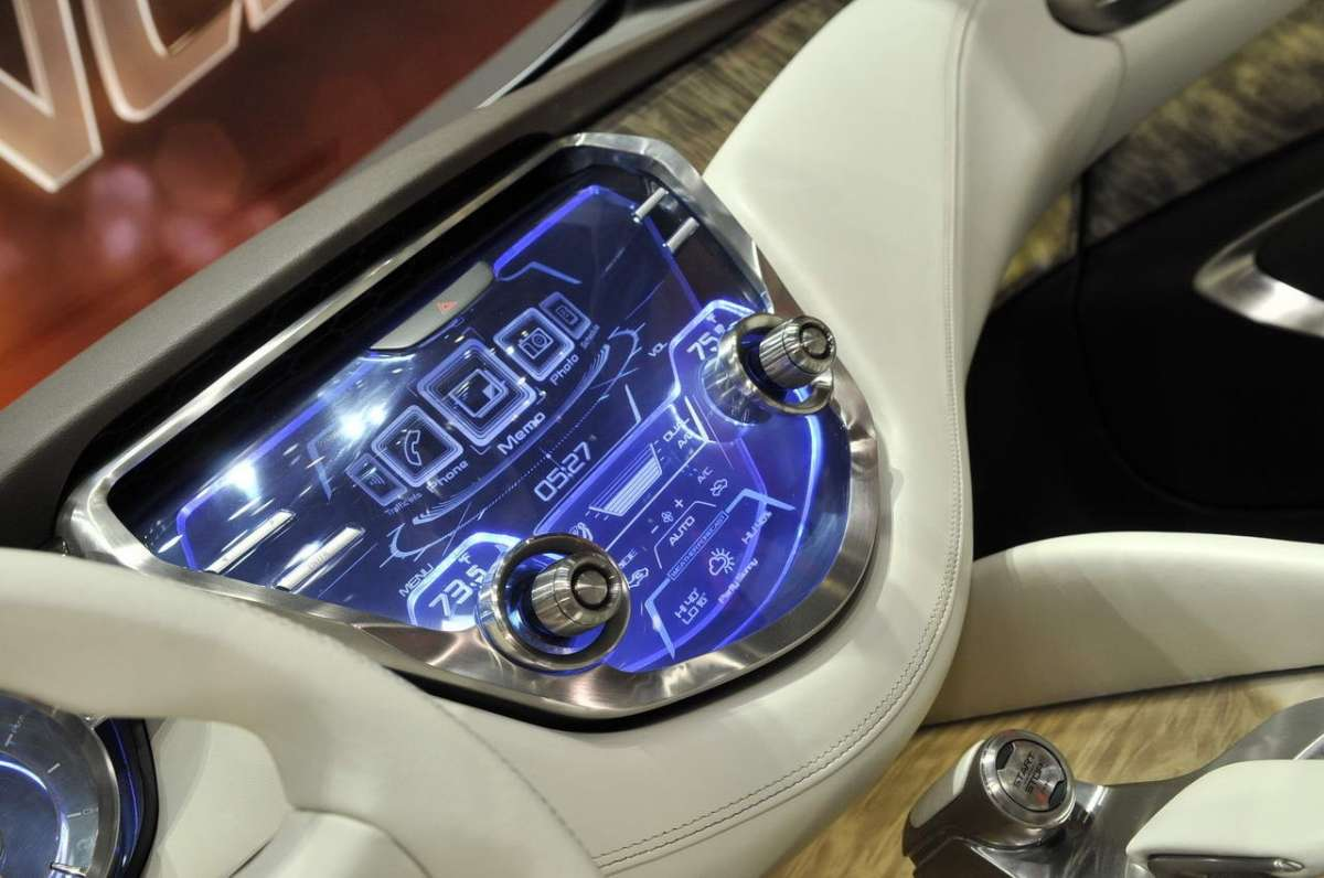 Nissan Resonance console centrale