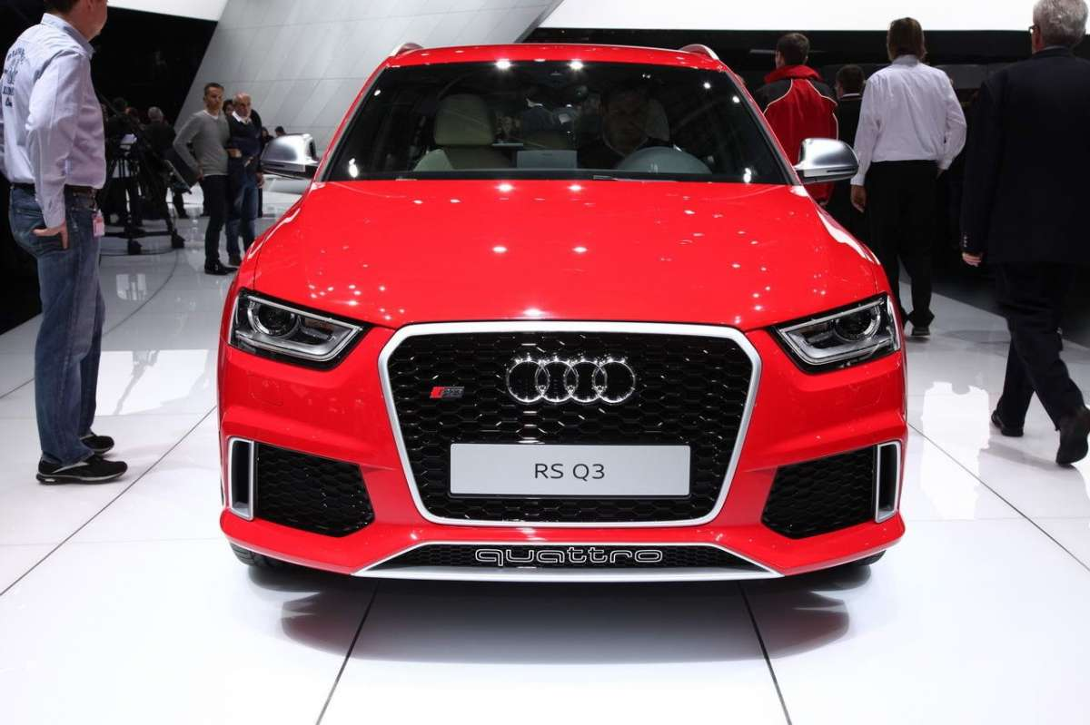 frontale Audi RS Q3