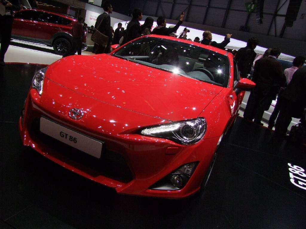 Toyota GT86 frontale