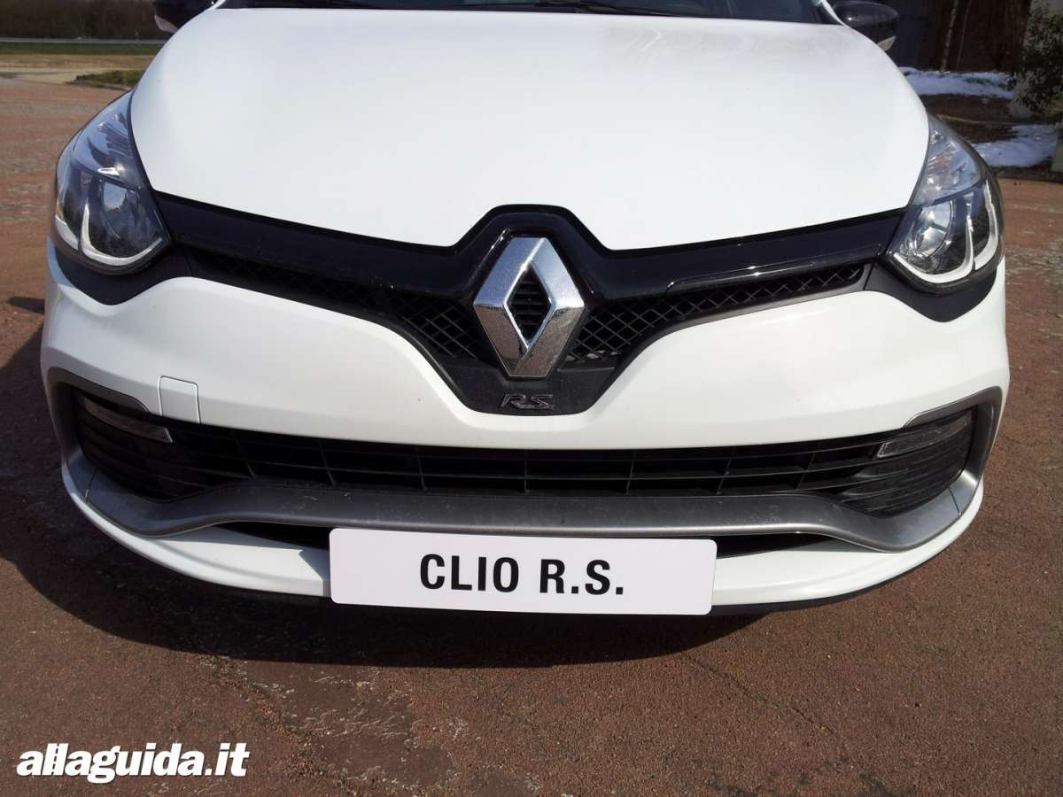frontale Nuova Renault Clio RS 2013