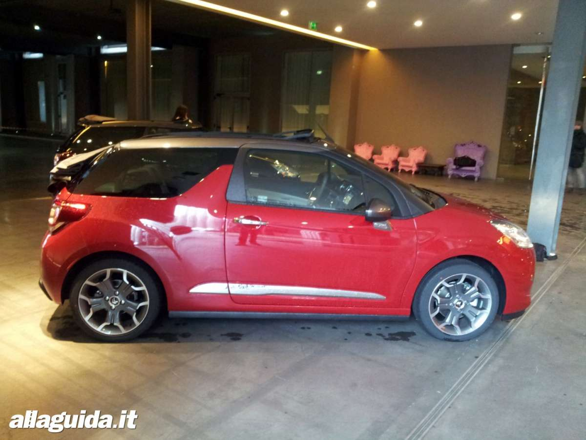 dimensioni Citren ds3 cabrio