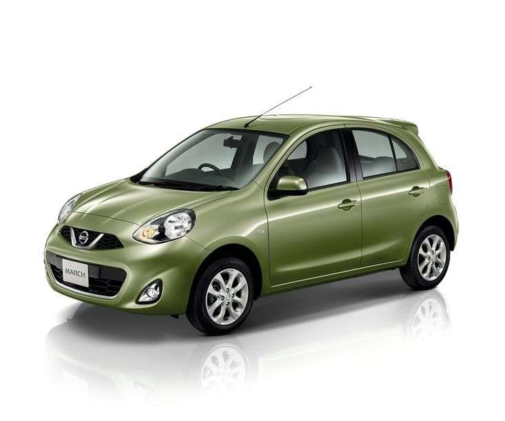 Nissan Micra 2013 restyling