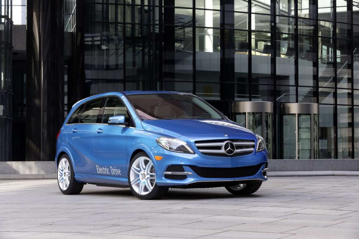 Frontale Mercedes