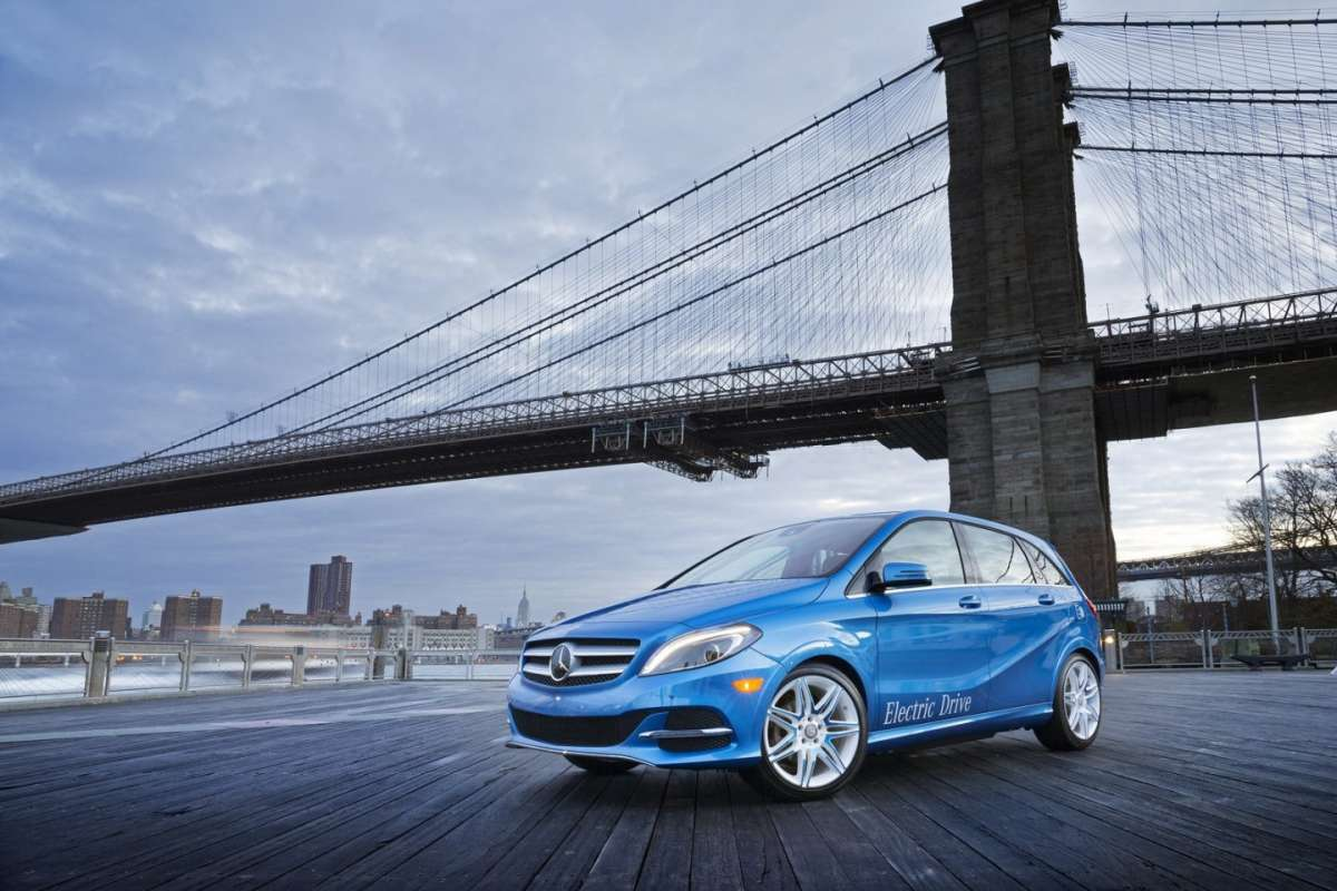 Mercedes Classe B Electric Drive frontale