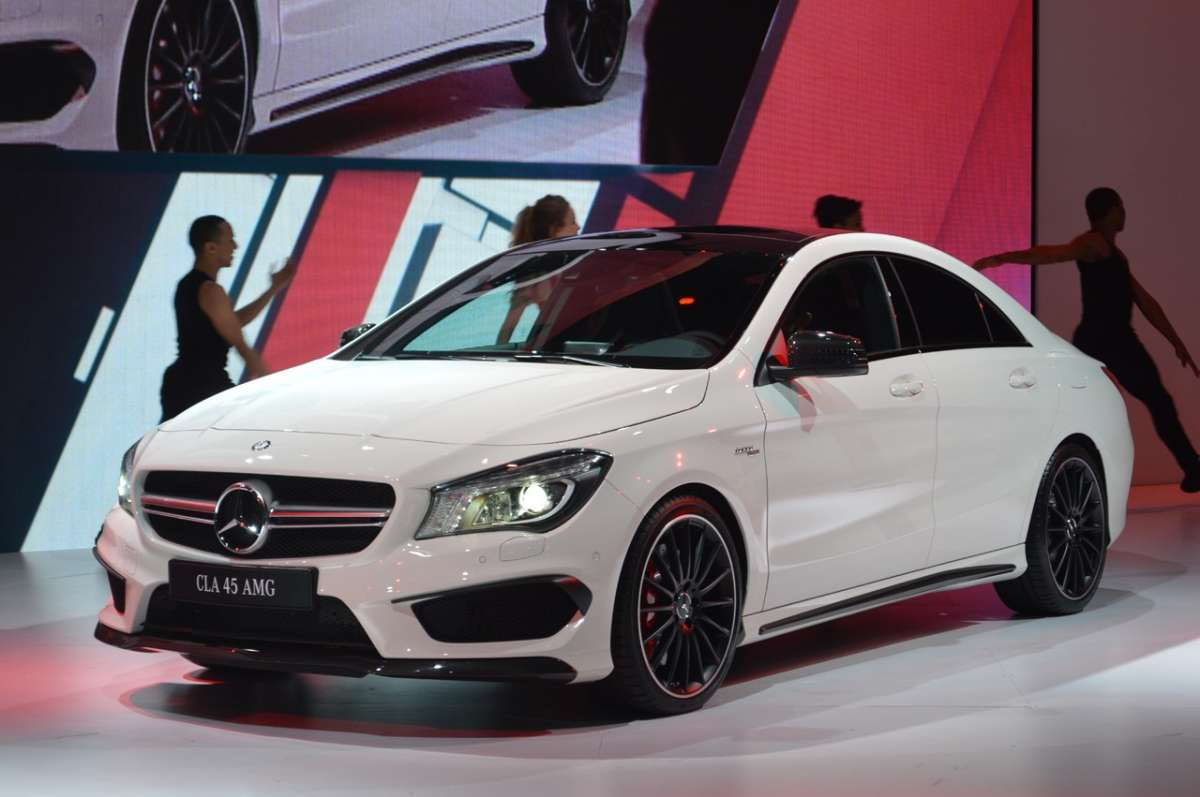 Mercedes CLA 45 AMG Salone di New York 2013