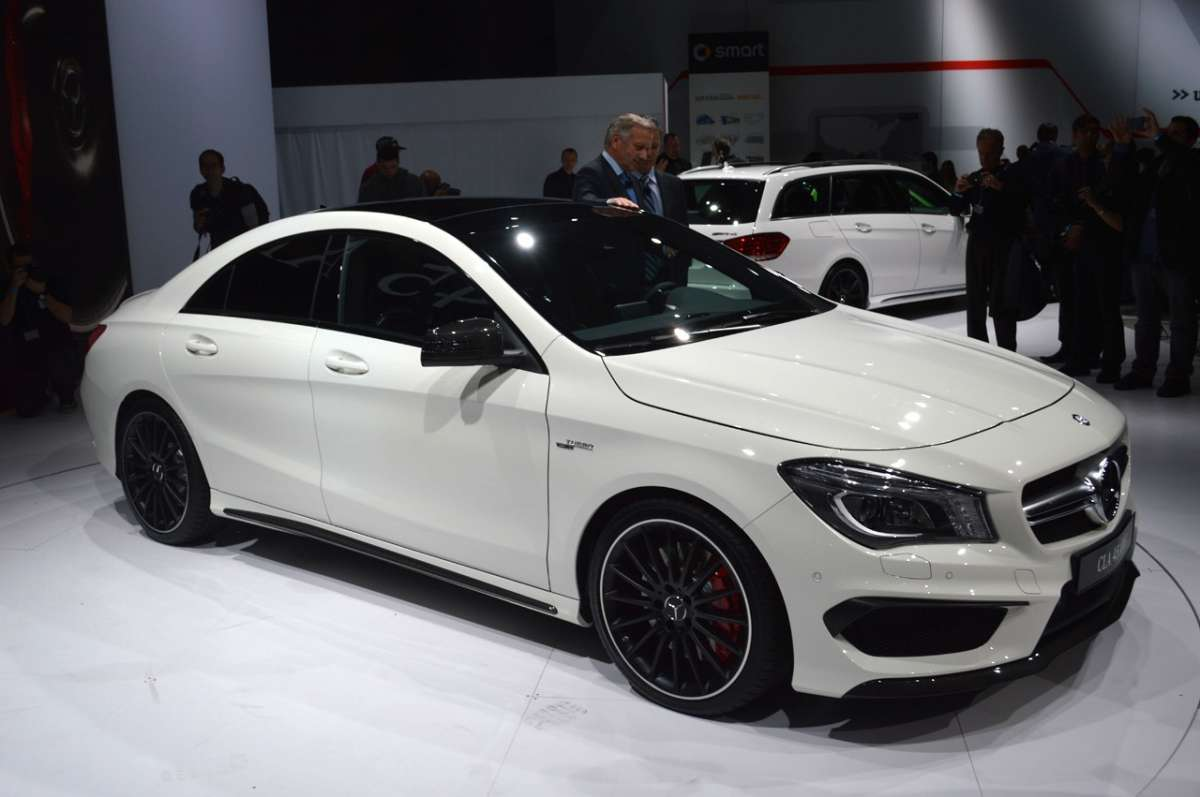 Mercedes CLA 45 AMG New York 2013