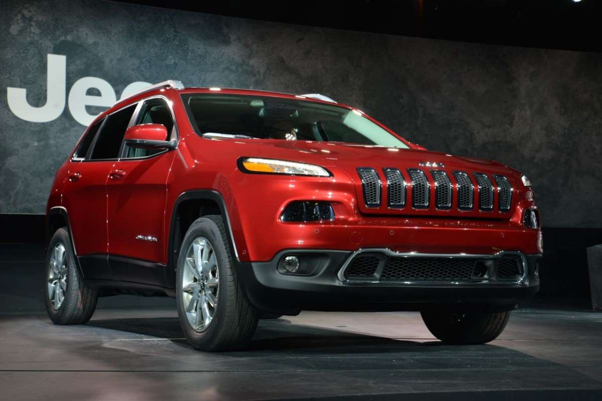 Jeep Cherokee 2014 al Salone di New York