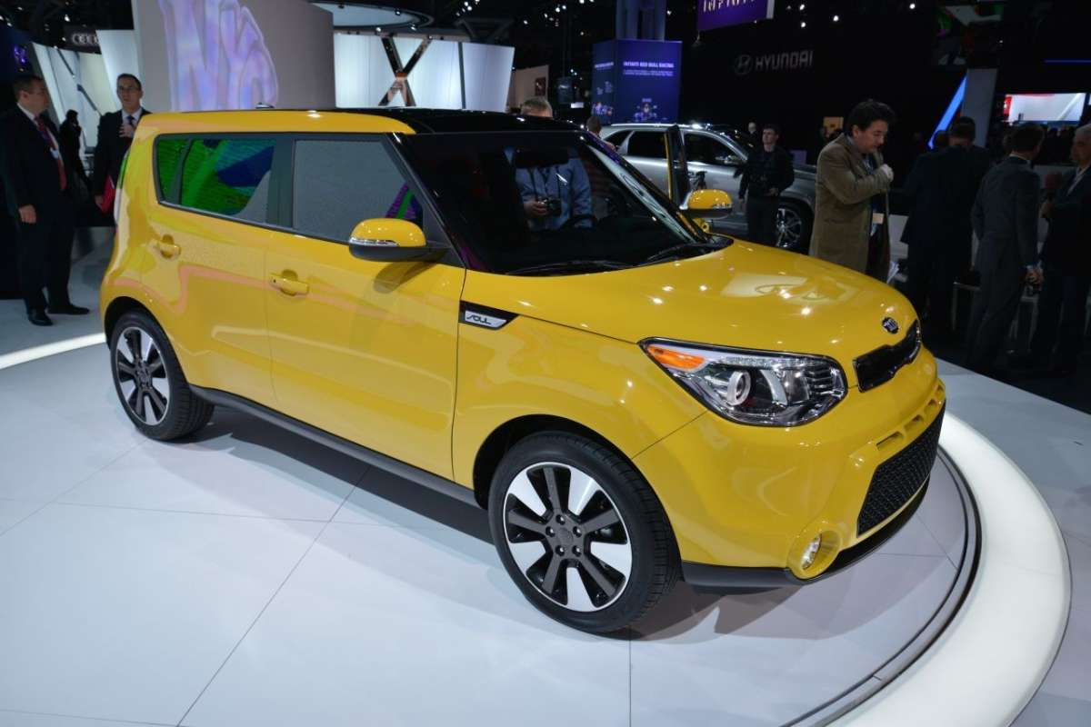 Kia Soul 2014 al Salone di New York
