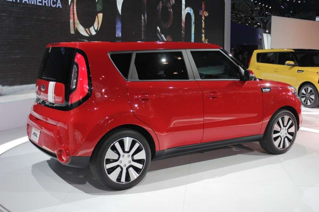 Salone di New York Kia Soul 2014