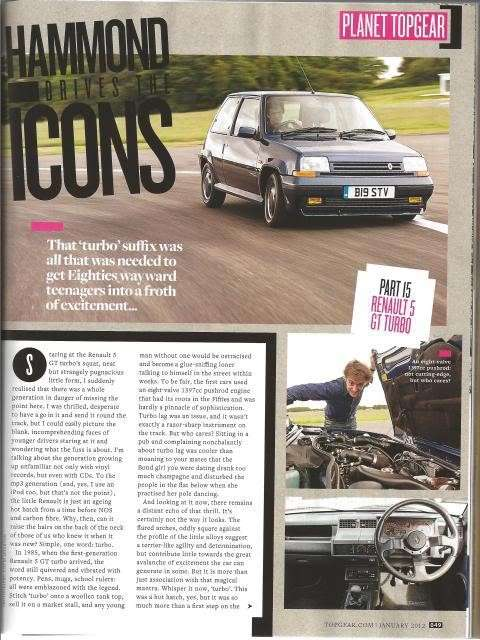 rivista Top Gear R5 GTT