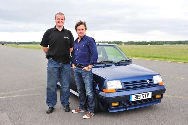 Renault 5 GT Turbo a Top Gear