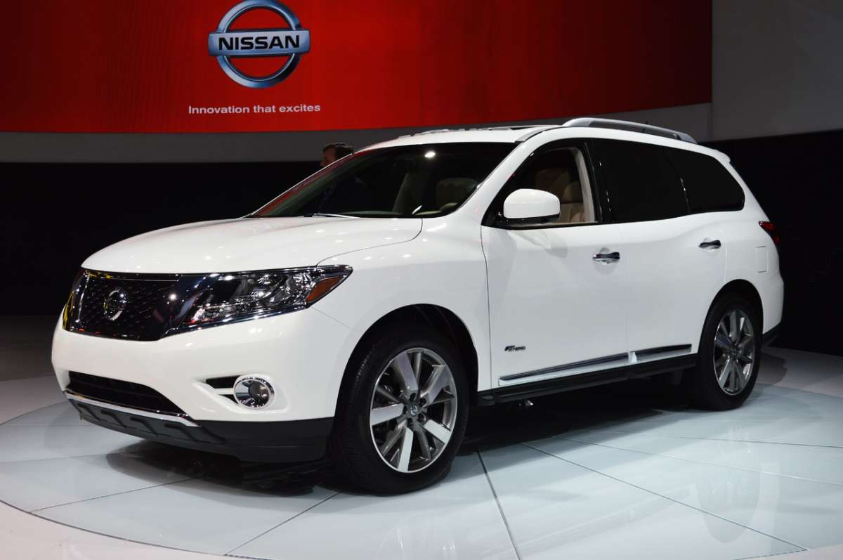 Nissan Pathfinder 2013 Hybrid al Salone di New York
