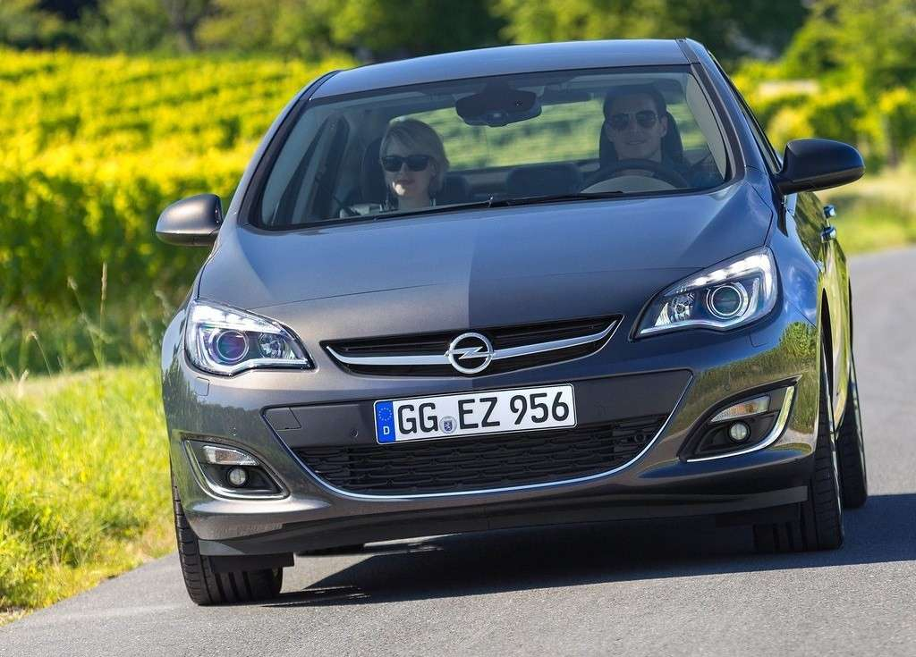 luci led Opel Astra