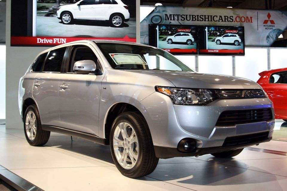Mitsubishi Outlander al Salone di New York 2013