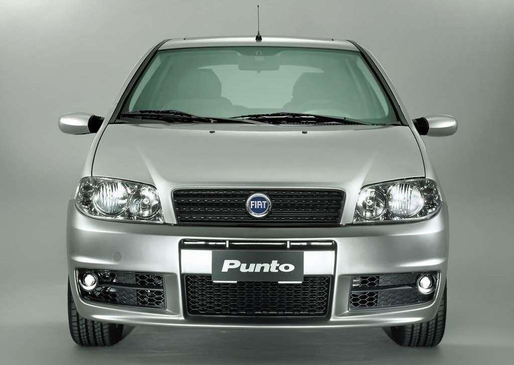 Fiat Punto 2003, frontale sporting