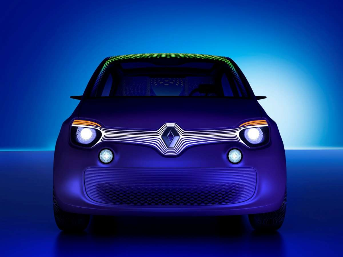 Renault Twin'z concept, anteriore