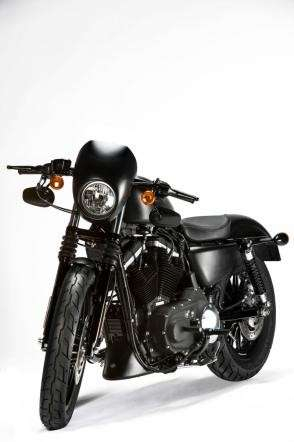 Anteriore dell'Harley-Davidson Sportster Iron 883 Special Edition