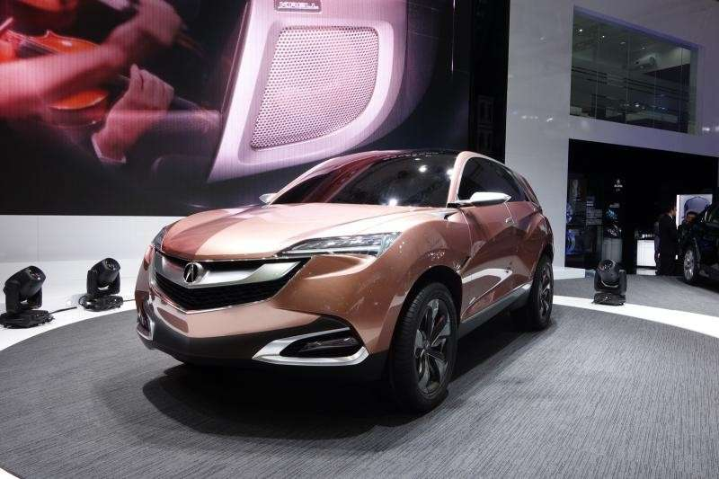 Acura SuvX concept, frontale