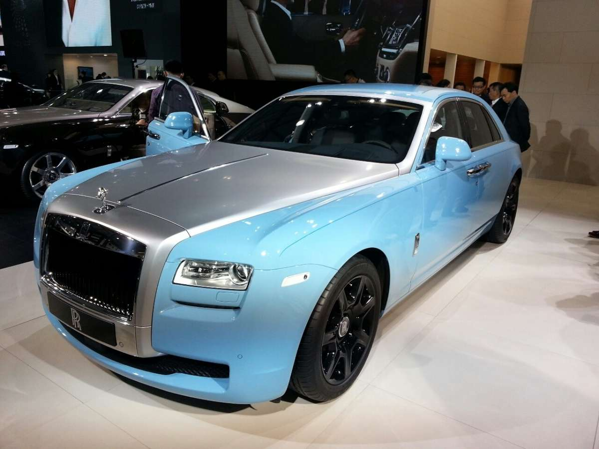Rolls-Royce Ghost Alpine Trial Centenary Collection Salone di Shanghai 2013