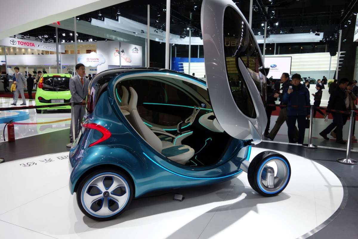 Chery Leaf Concept elettrica