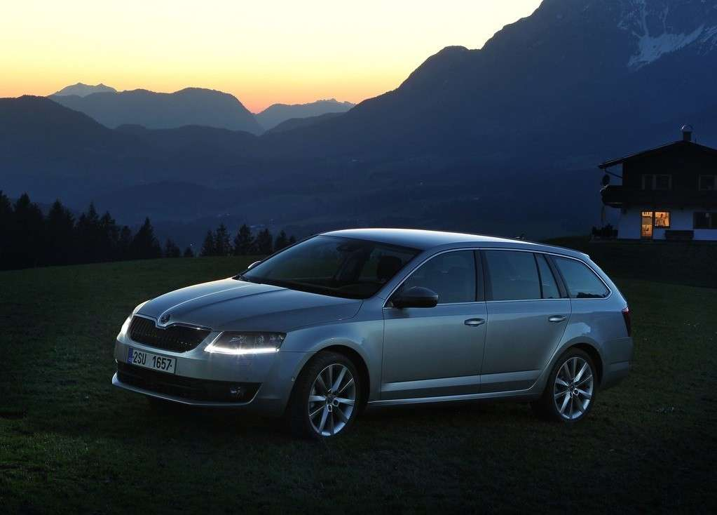luci a led Octavia wagon