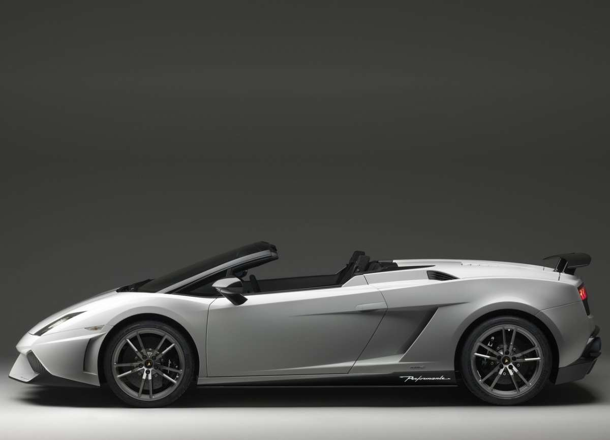 Lamborghini Gallardo LP570-4 Spyder Performante (2011)