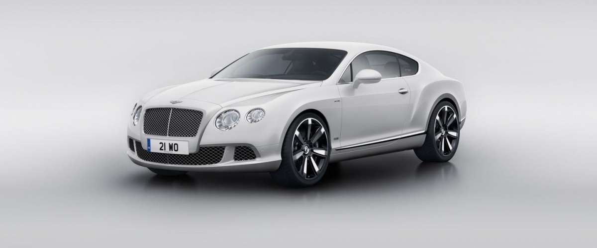 Bentley Continental GT Le Mans Edition bianca