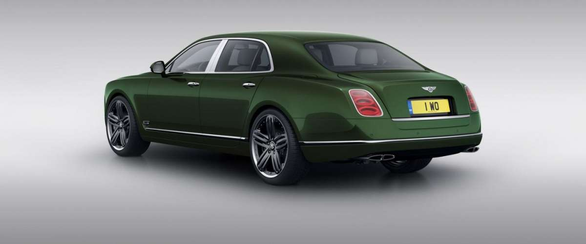 Bentley Mulsanne Le Mans Edition posteriore