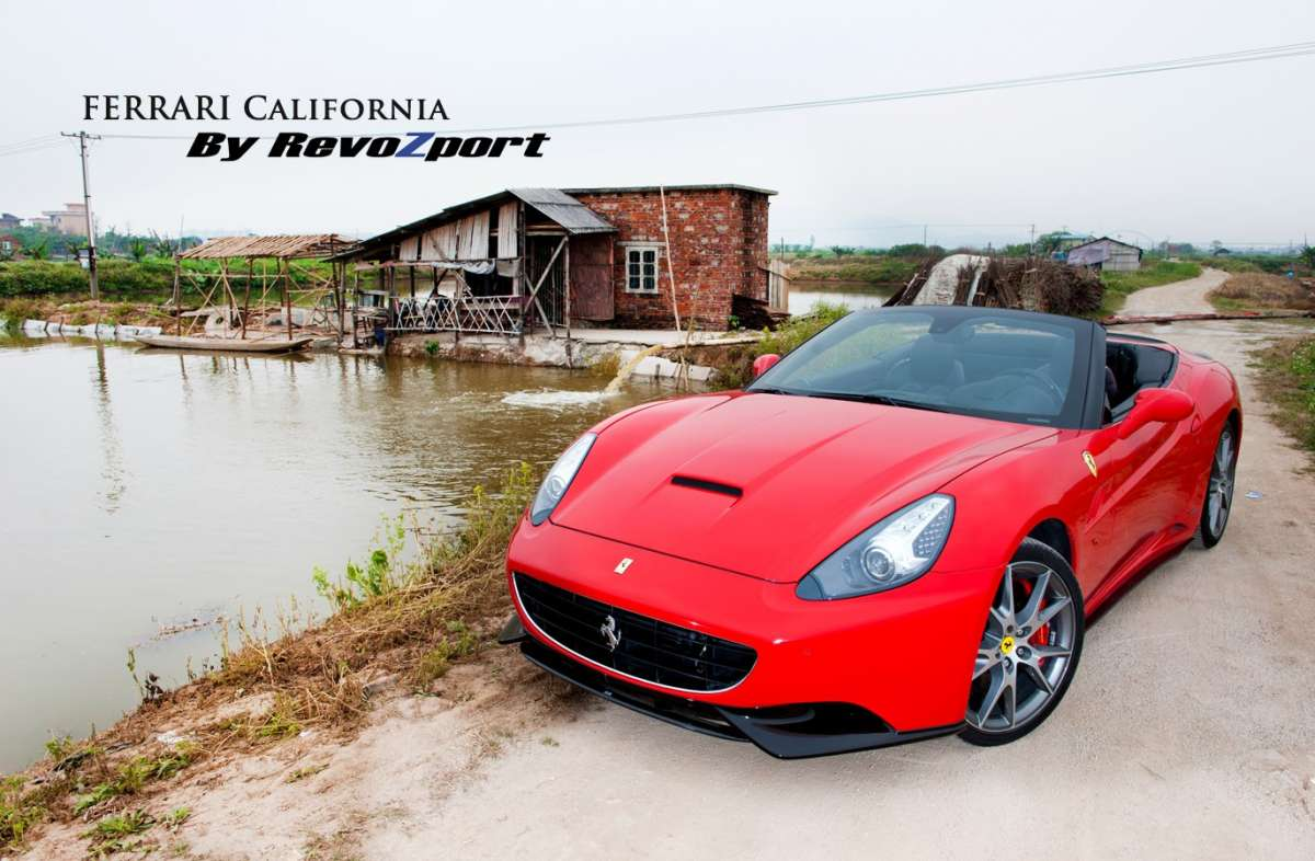Ferrari California tuning by Revozport