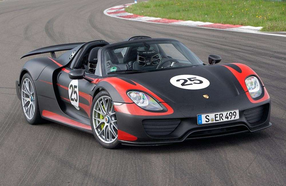 Porsche 918 Spyder, Race mode