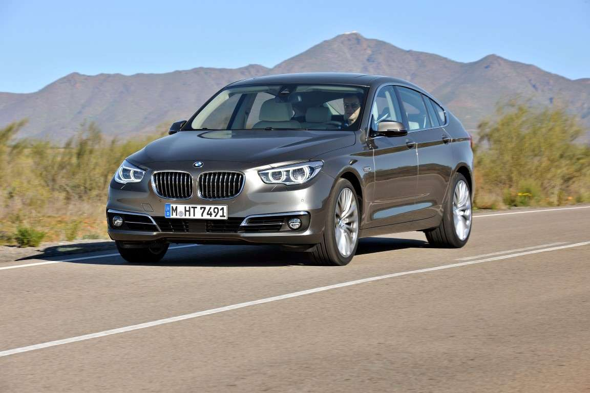 Bmw Serie 5 Gran Turismo restyling, frontale