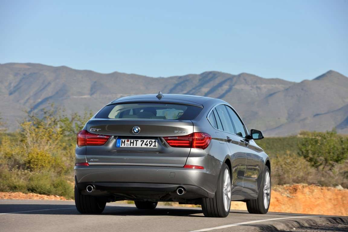 Bmw Serie 5 Gran Turismo restyling, posteriore
