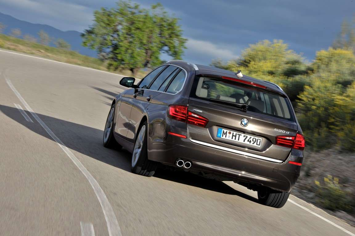 Bmw Serie 5 Touring restyling, bagagliaio