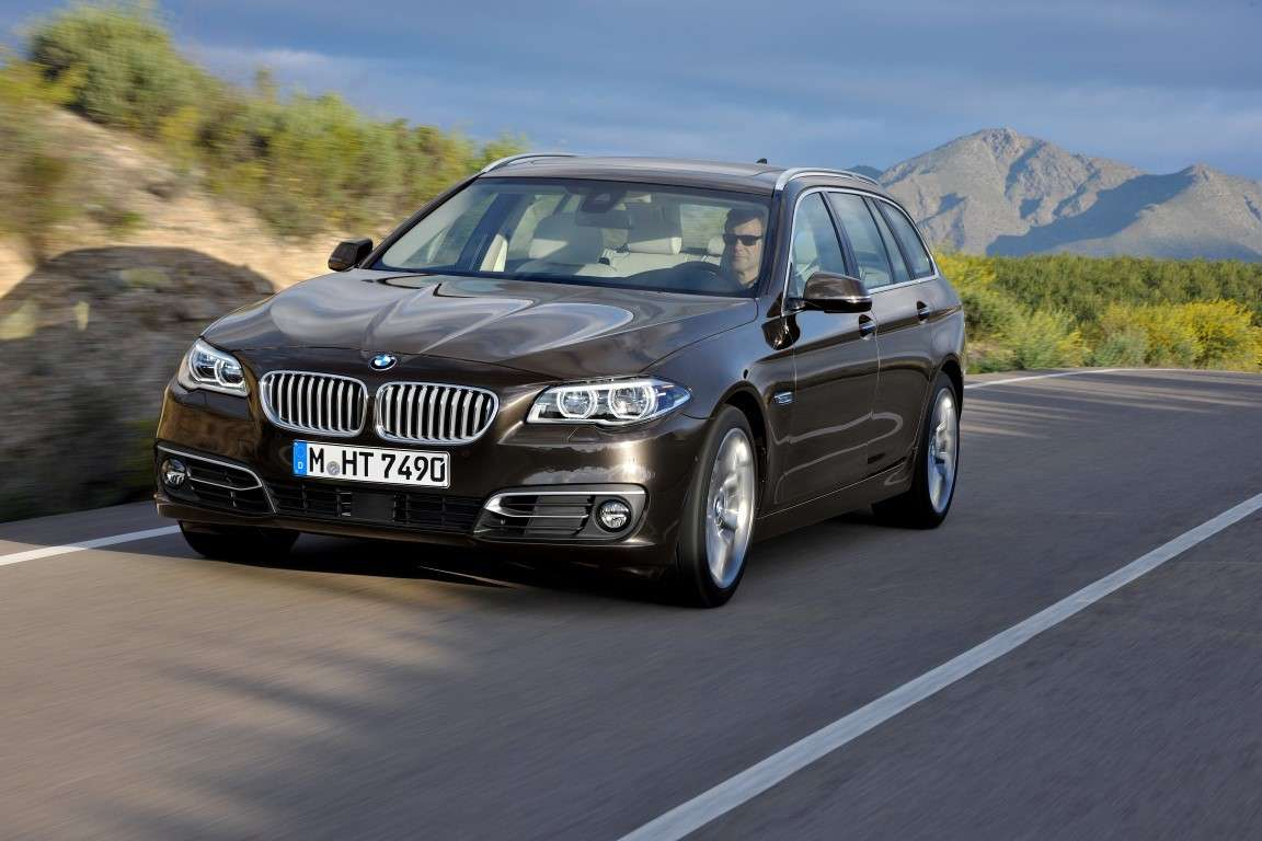 Bmw Serie 5 Touring restyling, frontale