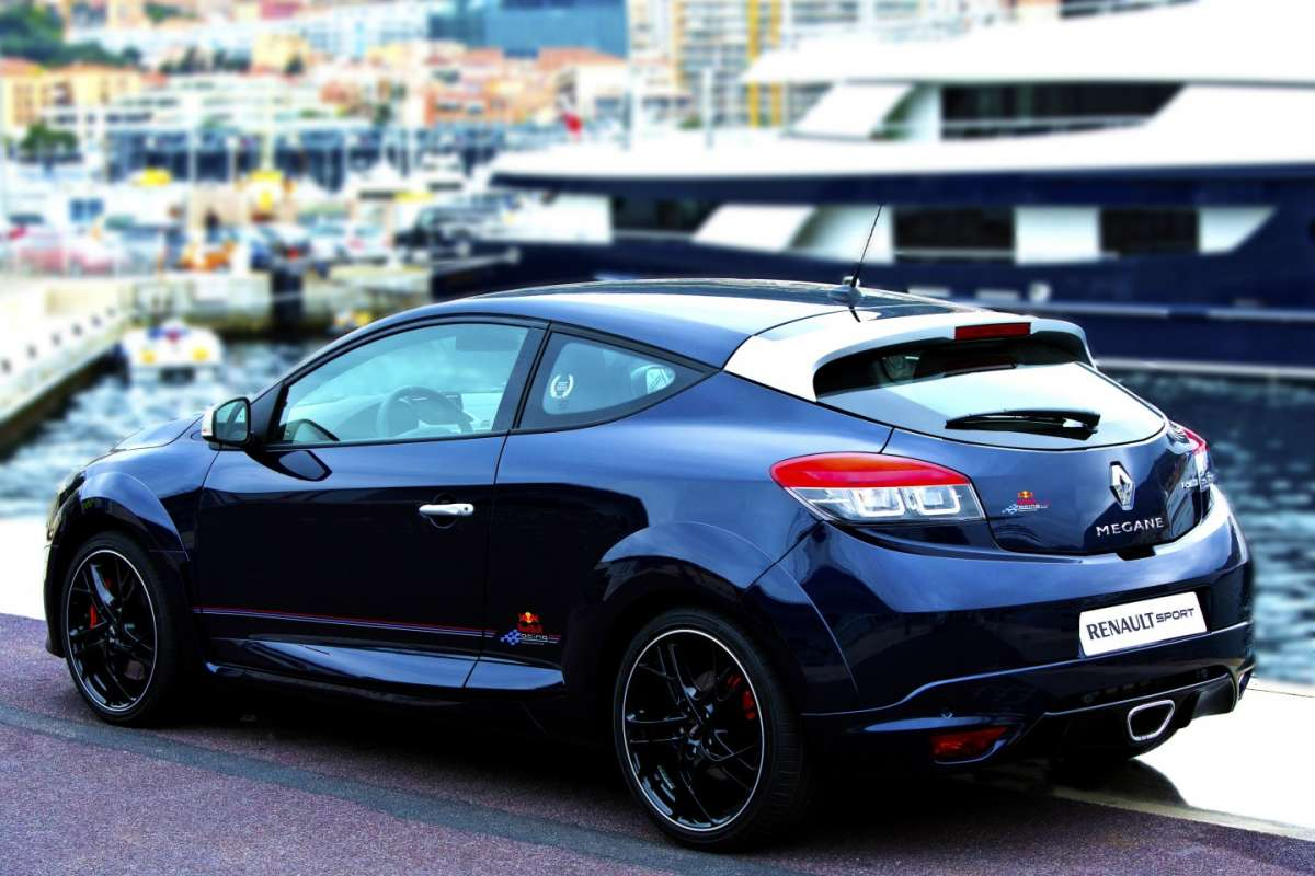 Renault Megane RS Red Bull RB8, posteriore