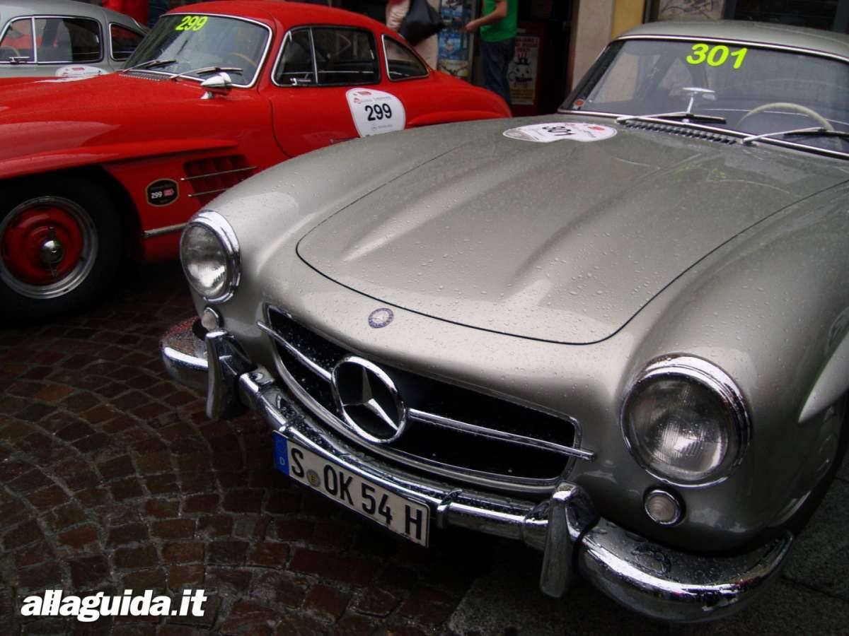 Mercedes Benz 300 SL musetto