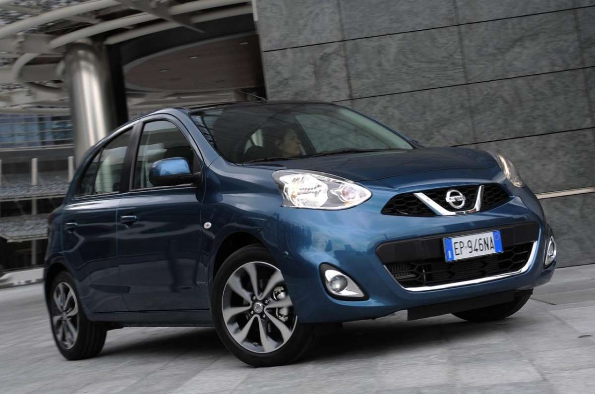 Nissan Micra 2013, frontale